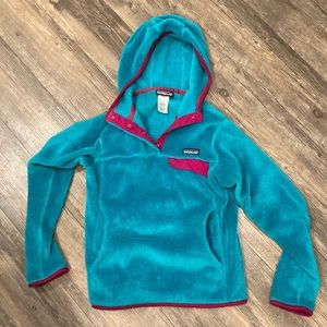 Patagonia retool pullover hooded jacket